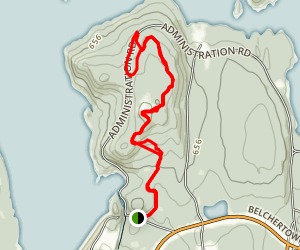 Quabbin Hill Trail Map