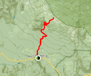 Butte Camp Trail Map