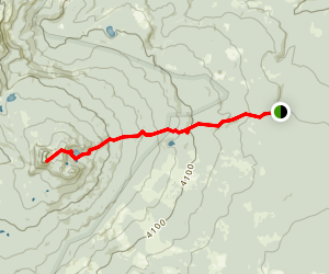 Lemei Trail to Lemei Rock Map