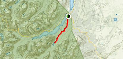 Red Eagle Lake Map