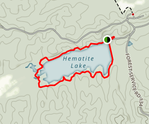Hematite Trail Map