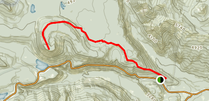 Spiral Butte Trail Map