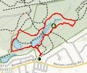 Town Forest Tour Trail Map
