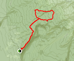 Stagman Ridge Trail Map