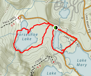 Twin Lakes Campground Map