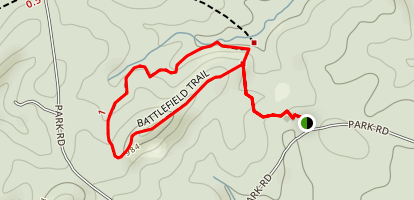 Battlefield Trail  Map