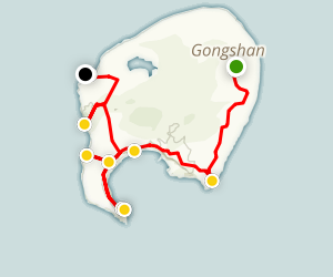 Weizhou Island Walk Map