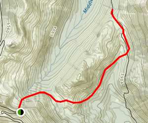 Slate Peak to Robinson Pass Map