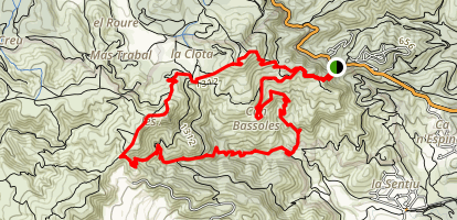 Bruguers (Gavá) Loop Map