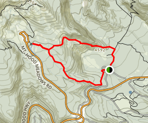Umbrella Falls Trail Map