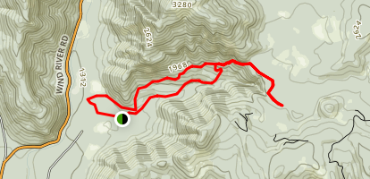 Falls Creek Trail Loop Map