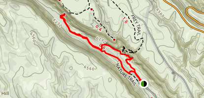 Alcove House Trail Map