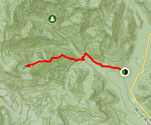 Soda Peaks Lake Trail Map