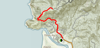 Cascade Head Trail Map
