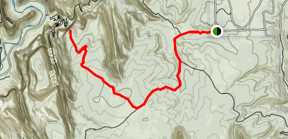 Cable Mountain Trail Map
