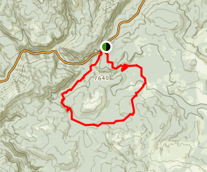Nels Rogers-University Falls Loop Trail Map