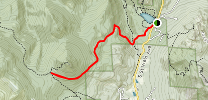 Storm Pass Trail Map