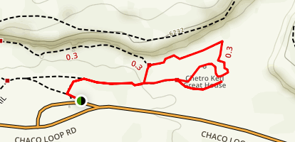 Chetro Ketl Trail Map