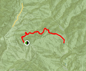 East Fork Lakes Map