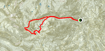 Poison Canyon Map
