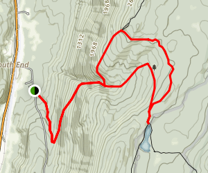 Griffith Lake Trail Map