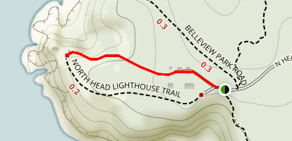 Lighthouse Keepers Trail Map
