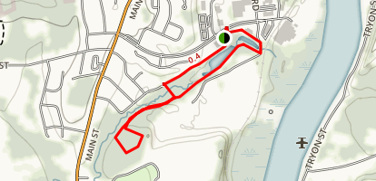 Dividend Pond Trails Map