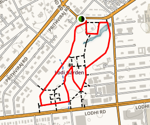 Lodi Garden Trail Map