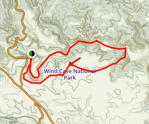 Lookout Point Trail Map