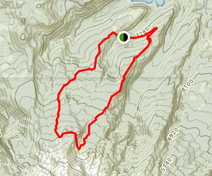Elk Cove Trail Map