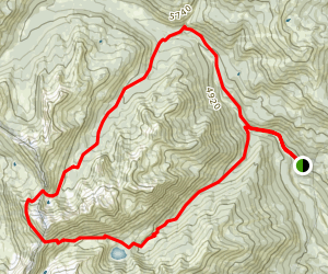 Bear Basin - Granite Lake Loop Map