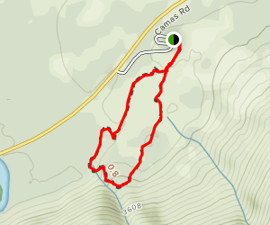 Huckleberry Mountain Nature Trail Map