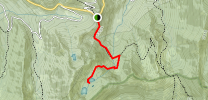South Fork Lakes Trail Map
