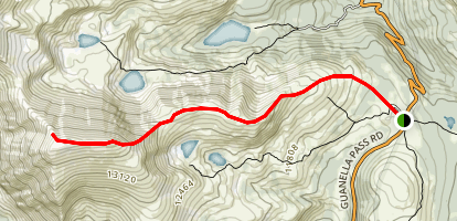 Square Top Mountain Map