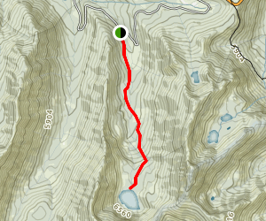 Long Gulch Lake Trail Map