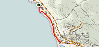 Moonstone Beach Trail Map