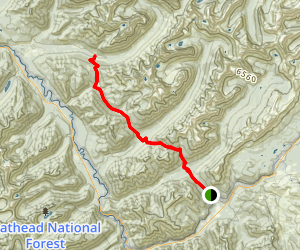Fielding Coal Creek Trail Map