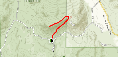 Carroll Rim Trail Map