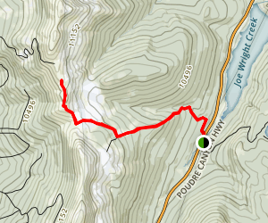 Montgomery Pass Trail Map