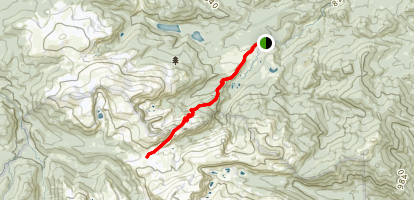 Mummy Pass Trail (#937) Map