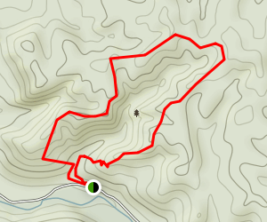 Boone Cliffs Loop Trail (CLOSED) Map
