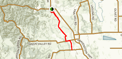 West County Regional Trail  Map