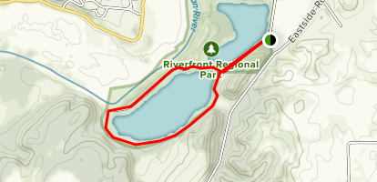 Riverfront Regional Park  Map