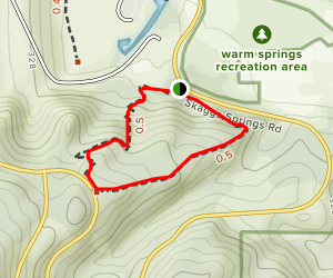 Woodland Ridge Trail Map