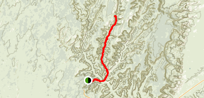 Keet Seel Trail Map