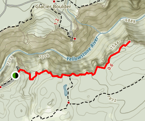 Point Sublime Trail Map
