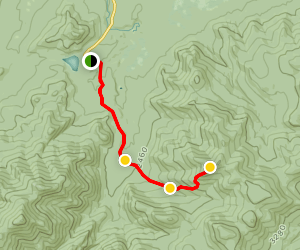 Phelps Mountain Trail Map