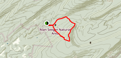 Alan Seeger Trail Map