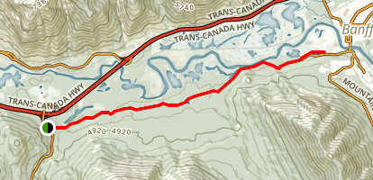 Healy Creek Trail Map