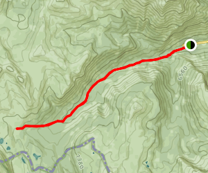Healy Pass Trail Map